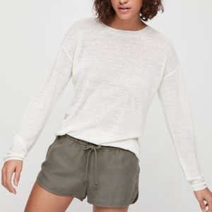 Wilfred free Isabelli top in escape linen blend